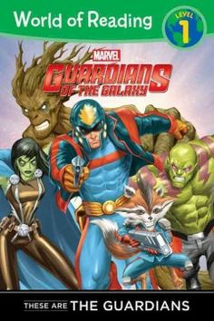 ER SUP. Introduces the superheroes who comprise the Guardians of the Galaxy.