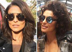 Juliana Paes abandona liso e assume cabelos crespos. Compare antes e depois…