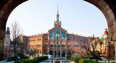 Domènech i Montaner. Hospital de la Santa Creu i de Sant Pau. Barcelona