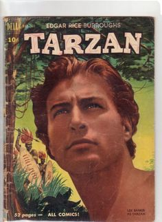 A cover gallery for the comic book Tarzan Real Movies, World Movies, Vintage Comic Books, Vintage Comics, Tarzan Actors, Tarzan Of The Apes, Westerns, Western Comics, Old Comics