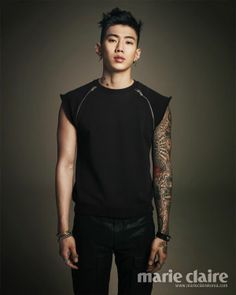 Jay Park, This is my type! I just really admire his total ability to be so manly, strong and give off an impression of I don't give a #@!!!#*#*!!! what you think! He just plain turns me on! I love this brother! :) D Smiley! :)