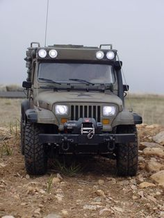 Jeep Wrangler expedition project