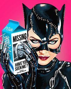 Batman Returns - Flore Maquin @flore_maquin