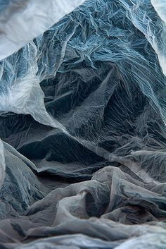 """Plastic bag landscapes"" by Vilde J. Rolfsen   http://ineedaguide.blogspot.com/2015/02/plastic-bag-landscapes-vilde-j-rolfsen.html #art #photography"