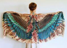Bem Legaus!: Lenços de pássaros