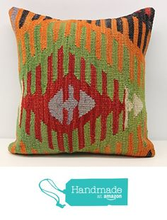 Art Deco kilim pillow cover 16x16 inch (40x40 cm) Boho kilim pillow cover Home Decor Natural Pillow cover Chevron Kilim Cushion Cover from Kilimwarehouse https://www.amazon.com/dp/B06WRWXCY5/ref=hnd_sw_r_pi_dp_mmeRybSR8F1WB #handmadeatamazon
