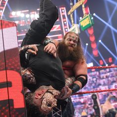 The must-see images of Raw, June 28, 2021: photos | WWE Money In The Bank, Battle Royal, Randy Orton, High Stakes, Aj Styles, Wwe Photos, See Images, Professional Wrestling, Riddles