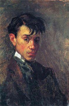 Pablo Picasso - self-portrait  - 1886