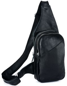 MICHAEL  TIDING Genuine cowhide leather boys Satchel travel bag men sling backpack BNWT #TIDING #Backpack