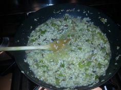 Een recept van Jamie Oliver risotto paddenstoelen