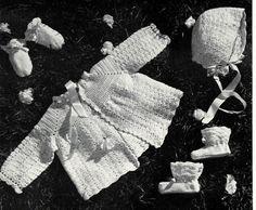 Knitting Crocheting 1950s Vintage Patterns  by VintageCraftsPDF