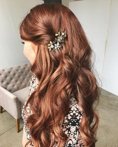 hair accessories twisted hairstyle long red hair extensions easy hairstyles