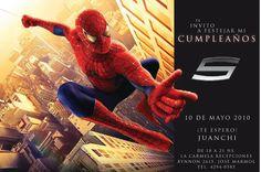 Invitaciones Cumpleaños Spiderman Para Poner De Fondo 2  en HD Gratis