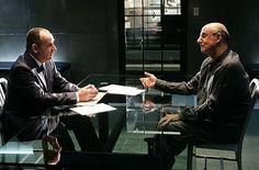 Jeffrey Tambor and Paul Guilfoyle in CSI: Crime Scene Investigation (2000)