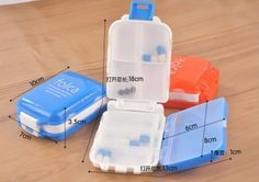 Tablettenbox folca in blau oder pink JETZT HIER zum top Preis von CHF 4.99. #Tablettenbox #Pillenbox #Medikamentenbox #Medikamentendosierer #muskelaufbau #bodybuilding #abnehmen #fitness #active12