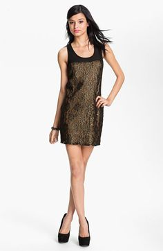 Lush Lace Shift Dress (Juniors) available at Nordstrom