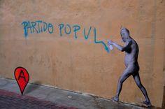 Arte callejero en Castellón de la Plana. #nosepuedevlc