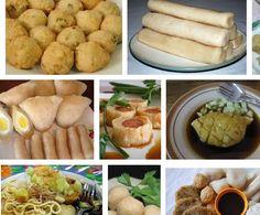 Resep mudah membuat pempek atau dengan bahasa lain juga dikenal dengan sebutan empek-empek. Banyak jenisnya dari penganan khas Palembang yang satu ini, sebut saja pempek dos, kapal selam, pempek lenjer, pempek ikan, pempek kulit, pempek adaan dan lain sebagainya. Empek-empek ini biasanya diadon dengan ikan giling dan juga ada yang tanpa ikan (disesuaikan dengan keinginan Indonesian Cuisine, Indonesian Recipes, Asian Recipes, Ethnic Recipes, Food And Drink, Cooking Recipes, Yummy Food, Snacks, Menu