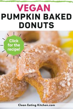 If you love all things pumpkin spice, you've got to try these amazing Gluten-Free & Vegan Pumpkin Spice Baked Donuts. This recipe is a healthy and delicious way to celebrate fall.