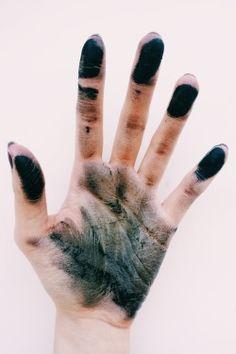 Charcoal (?)