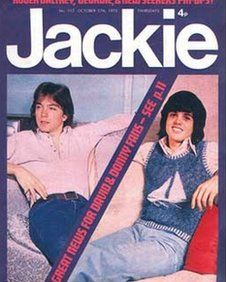 1970s Jackie magazine.  Probably the most popular at the time but I preferred Pink and Music Star