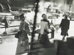 Saul Leiter, Untitled (Construction Site, 1950's)