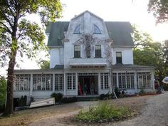 Go to the Amityville horror house. The one from the movie