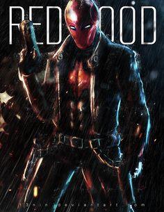 Jason Todd : Red Hood  by ~13nin