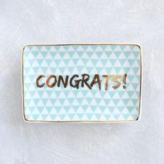 Congrats Dish