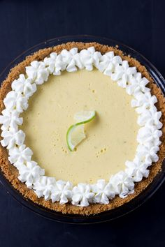 This classic key lime pie recipe is the only one you will need! It's creamy, luscious and perfectly tart with fresh key lime juice.