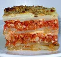 Croatian Potato Moussaka Recipe - Recipe for Croatian Potato Moussaka or Musaka od Krumpira -could use veggie meat Eastern European Recipes, European Cuisine, Croation Recipes, Gourmet Recipes, Cooking Recipes, Cooking Ribs, Croatian Cuisine, Moussaka Recipe, Serbian Recipes