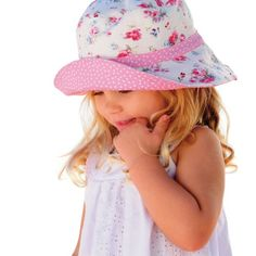 Millymook Girls Reversible Cotton Sun Hat Vintage Bucket Hat is cuter in  person than it is 391a1929fd34