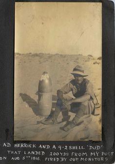 WW1. Album of E. Gordon Williams, Otane. Period May 1916 to Jan 1917. Images…
