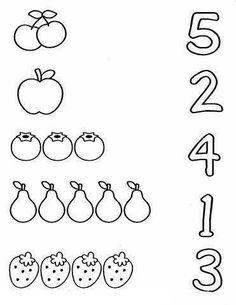 Nursery Worksheets, Printable Preschool Worksheets, Kindergarten Math Worksheets, Preschool Writing, Numbers Preschool, Preschool Learning Activities, Preschool Lessons, Education Galaxy, Education Jobs
