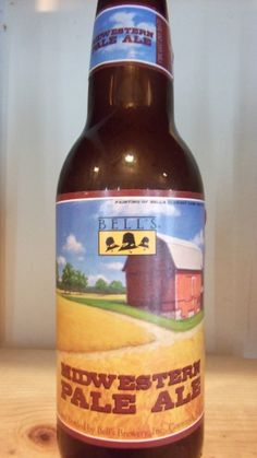 Cerveja Bell's Midwestern Pale Ale, estilo American Pale Ale, produzida por Bell's Brewery, Estados Unidos. 5.2% ABV de álcool.