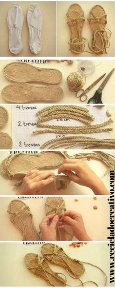 Una sandalia con más de 20 combinaciones diferentes | Aprender manualidades es facilisimo.com