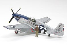 """1/48 NA P-51B Mustang - """"Blue Nose"""" Neato!!"""