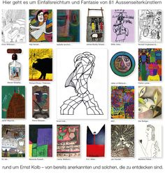 Welcome to a collection of outsider art Outsider Art, Web Gallery, Art Brut, The Outsiders, Presents, Creative, Artist, Inspiration, Stone