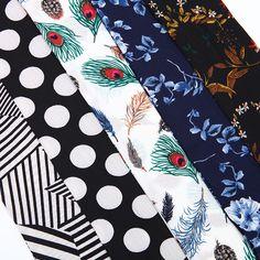 Genovega Горячая зима Для женщин Шарфы для женщин модная шифоновая полосы полиэстер угощал для женщин Роскошные Длинные принт Перо леди узкий шарф купить на AliExpress