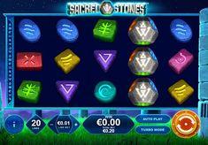 Игровой автомат Sacred Stones с выводом денег  Стоунхендж вдохновил разработчиков из Playtech на создание автомата Sacred Stones. Вы будете выводить из него крупные суммы денег, составляя комбинации на 5 барабанах и 20 игровых линиях. Также получение реальных выигрышей обеспечат фриспины и символ Wild.