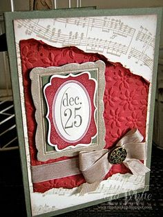 Tina White - Time to Ink Up - Independent Stampin' Up! Demonstrator Brisbane Australia: My 12 Weeks of Christmas
