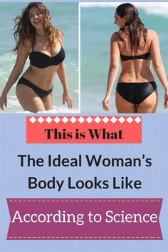 This is What the Ideal Woman's Body Looks Like, According to Science