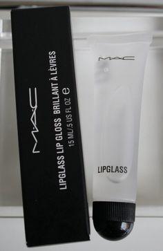"""MAC Lipglass in """"Clear"""" - Cosmopolitan.com"""