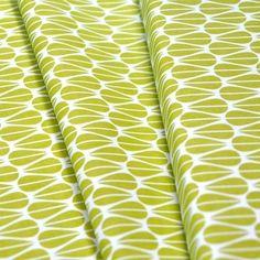 21,40 €/m Bio-Stoff Monaluna Little Leaves von Biostoffe.at auf DaWanda.com