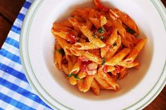 Penne, Thai Red Curry, Chili, Carrots, Cabbage, Vegetables, Ethnic Recipes, Desserts, Food