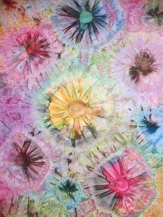 Carol R. Eaton Designs: Whiffle Balls + Fabric Paint + Dye!