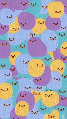Cute Pastel Wallpaper, Soft Wallpaper, Cute Patterns Wallpaper, Iphone Background Wallpaper, Aesthetic Pastel Wallpaper, Kawaii Wallpaper, Disney Wallpaper, Aesthetic Wallpapers, Wallpaper Fofos