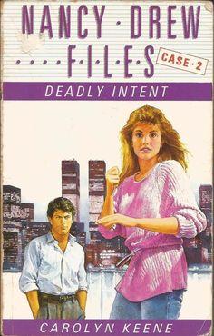 Nancy Drew Files - Case 2 - Deadly Intent by Carolyn Keene - Paperback - S/Hand