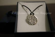 Ciondolo croce nodo celtico