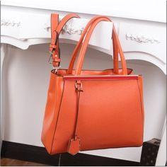 Vogue Simple Rhinestone Pendant Handbag Orange found on Polyvore